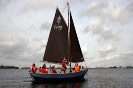 Junior Zeeverkenners stoppen muiterij op Koudenhoorn