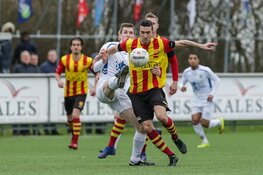 Ter Leede en FC Lisse geven elkaar niets toe in derby