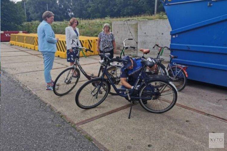 Weesfietsenactie station Voorhout
