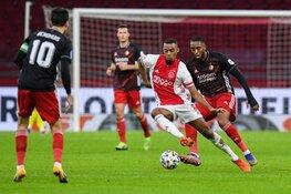 Ajax wint nipt in klassieker tegen Feyenoord